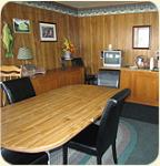 The Sage N Sand Motel lobby lounge is comfortable inviting and open 24 hours.