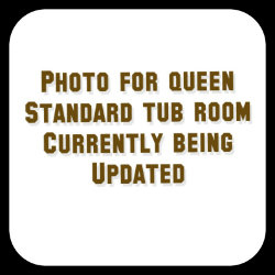 Queen Standard Tub Room at Sage-N-Sand Motel